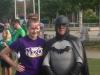 Hannah and Batman!