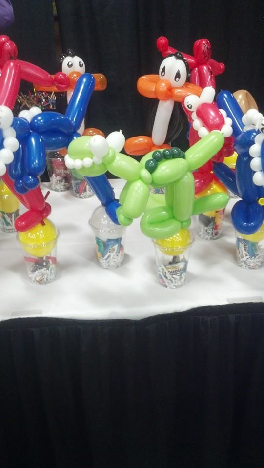 Balloon cups